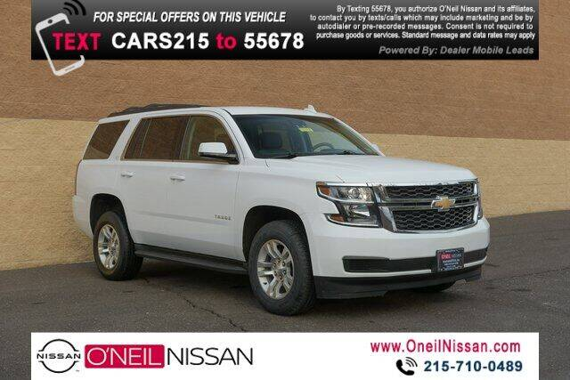 2017 Chevrolet Tahoe for sale in Warminster, PA