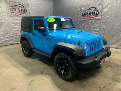 2017 Jeep Wrangler for sale at GRAND AUTO SALES in Grand Island NE
