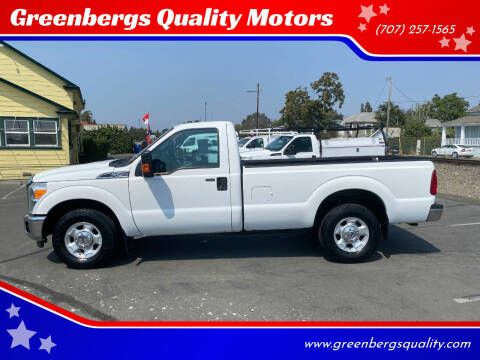 2012 Ford F-250 Super Duty for sale at Greenbergs Quality Motors in Napa CA