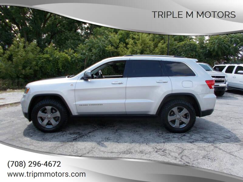 2013 Jeep Grand Cherokee for sale at Triple M Motors in Saint John IN