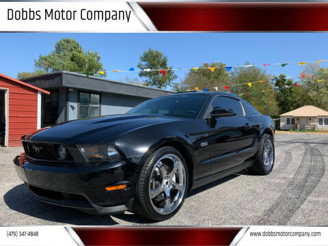 2012 Ford Mustang for sale at Dobbs Motor Company in Springdale AR