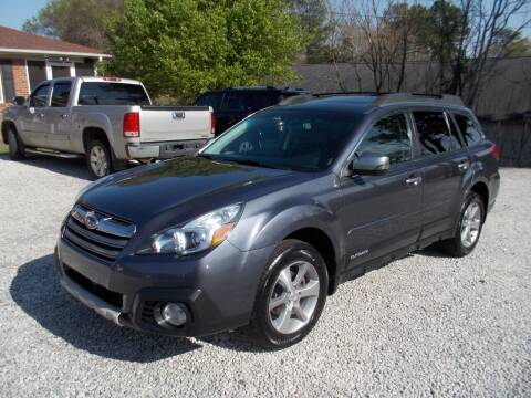 2014 Subaru Outback for sale at Carolina Auto Connection & Motorsports in Spartanburg SC
