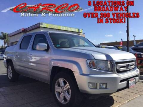 2011 Honda Ridgeline for sale at CARCO SALES & FINANCE #3 in Chula Vista CA