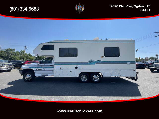 1995 Dodge Ram Chassis 3500 for sale at S S Auto Brokers in Ogden UT