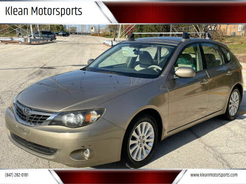 2008 Subaru Impreza for sale at Klean Motorsports in Skokie IL