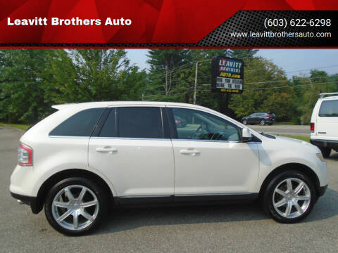 2010 Ford Edge for sale at Leavitt Brothers Auto in Hooksett NH