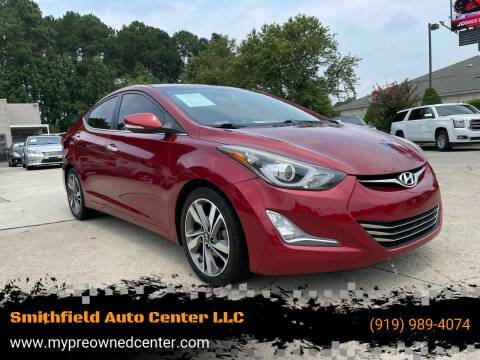 2015 Hyundai Elantra for sale at Smithfield Auto Center LLC in Smithfield NC