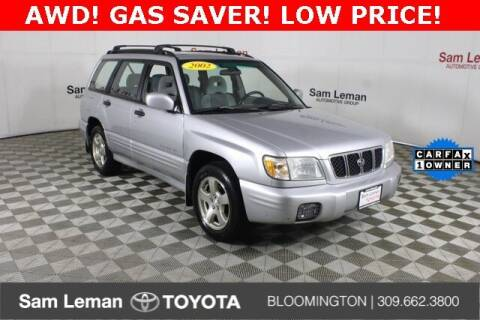 2002 Subaru Forester for sale at Sam Leman Toyota Bloomington in Bloomington IL