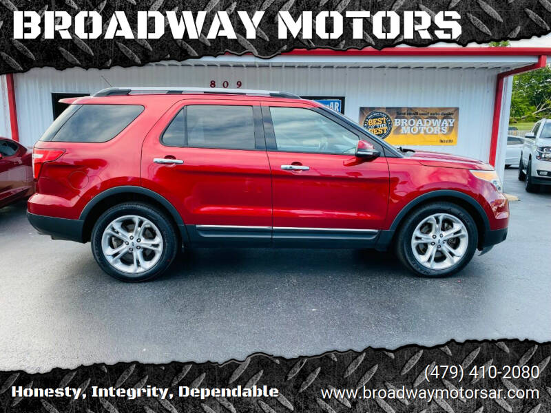 2014 Ford Explorer for sale at BROADWAY MOTORS in Van Buren AR