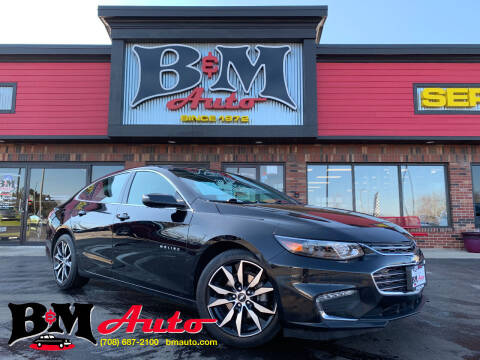 2017 Chevrolet Malibu for sale at B & M Auto Sales Inc. in Oak Forest IL