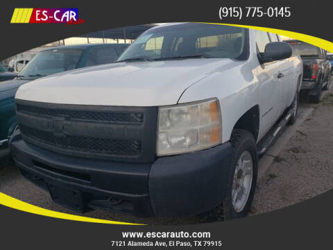 2009 Chevrolet Silverado 1500 for sale at Escar Auto in El Paso TX