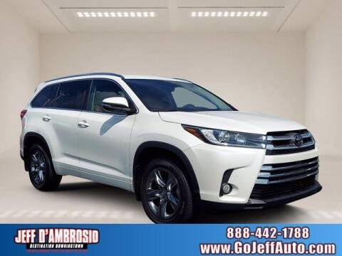2018 Toyota Highlander for sale at Jeff D'Ambrosio Auto Group in Downingtown PA