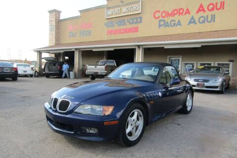 1996 BMW Z3 for sale at Import Motors in Bethany OK