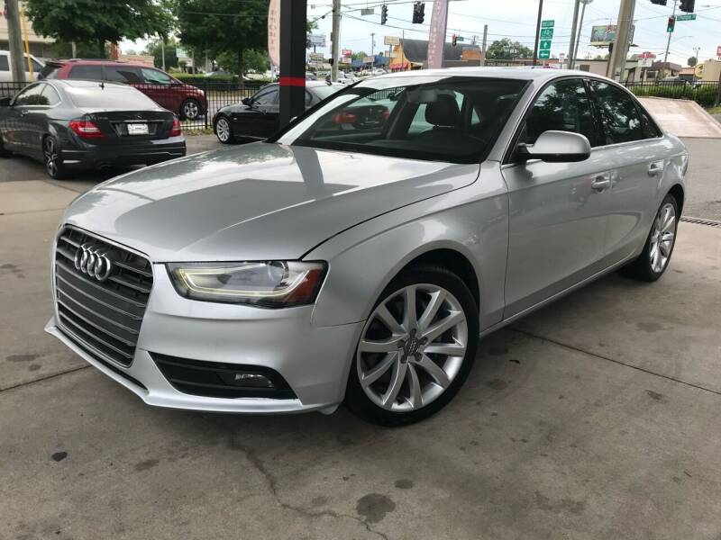 2013 Audi A4 for sale at Michael's Imports in Tallahassee FL