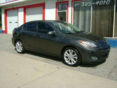 2010 Mazda MAZDA3 for sale at Cedar Auto Sales in Lansing MI