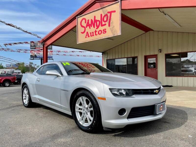 2014 Chevrolet Camaro for sale at Sandlot Autos in Tyler TX