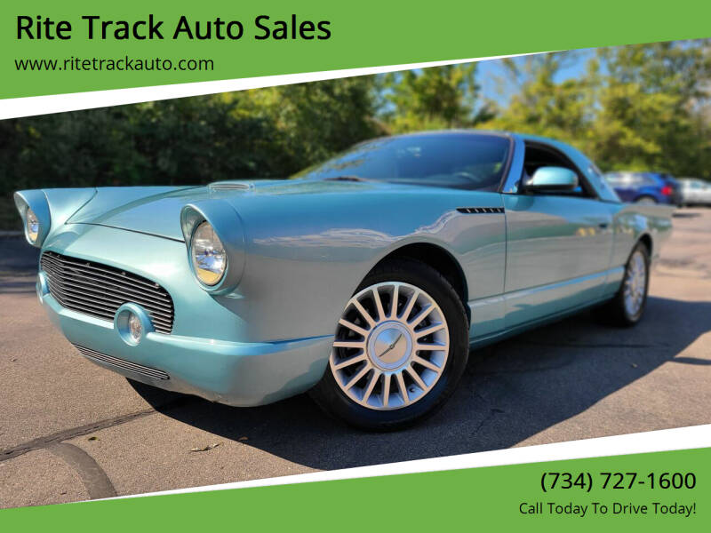 2002 Ford Thunderbird for sale at Rite Track Auto Sales in Wayne MI