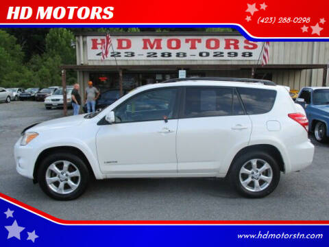 2009 Toyota RAV4 for sale at HD MOTORS in Kingsport TN