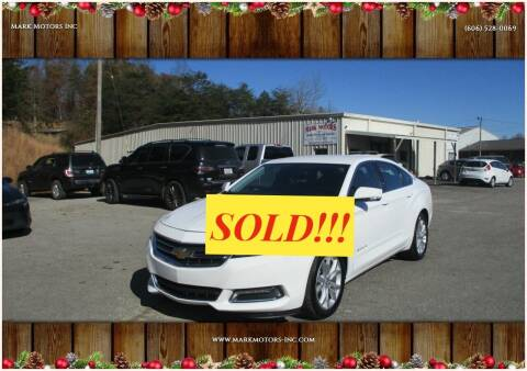 2020 Chevrolet Impala for sale at Mark Motors Inc in Gray KY