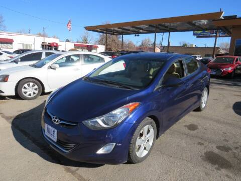 2013 Hyundai Elantra for sale at Nile Auto Sales in Denver CO