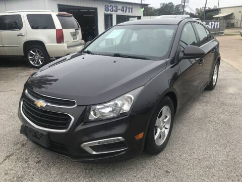 2016 Chevrolet Cruze Limited for sale at AMERICAN AUTO COMPANY in Beaumont TX