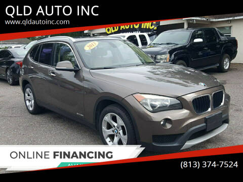 2013 BMW X1 for sale at QLD AUTO INC in Tampa FL