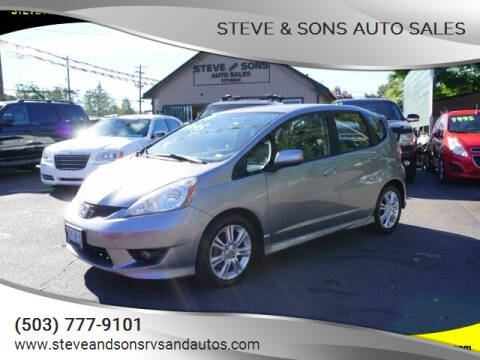 2010 Honda Fit for sale at Steve & Sons Auto Sales in Happy Valley OR