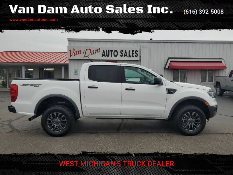 2020 Ford Ranger for sale at Van Dam Auto Sales Inc. in Holland MI