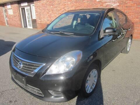 2012 Nissan Versa for sale at Tewksbury Used Cars in Tewksbury MA