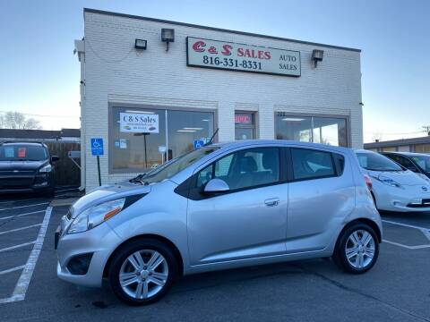 2013 Chevrolet Spark for sale at C & S SALES in Belton MO