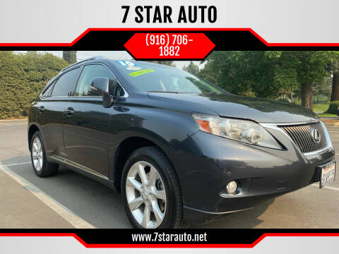 2010 Lexus RX 350 for sale at 7 STAR AUTO in Sacramento CA