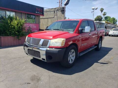 2005 Nissan Titan for sale at McHenry Auto Sales in Modesto CA
