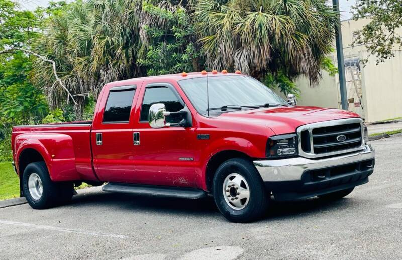 2002 Ford F-350 Super Duty for sale at Sunshine Auto Sales in Oakland Park FL