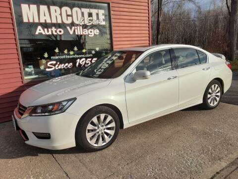 2014 Honda Accord for sale at Marcotte & Sons Auto Village in North Ferrisburgh VT