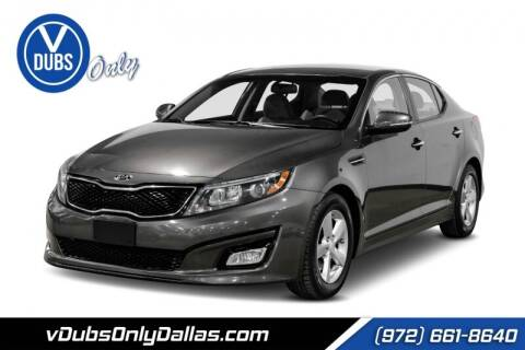 2015 Kia Optima for sale at VDUBS ONLY in Dallas TX