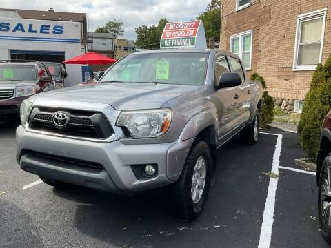 2015 Toyota Tacoma for sale at White River Auto Sales in New Rochelle NY