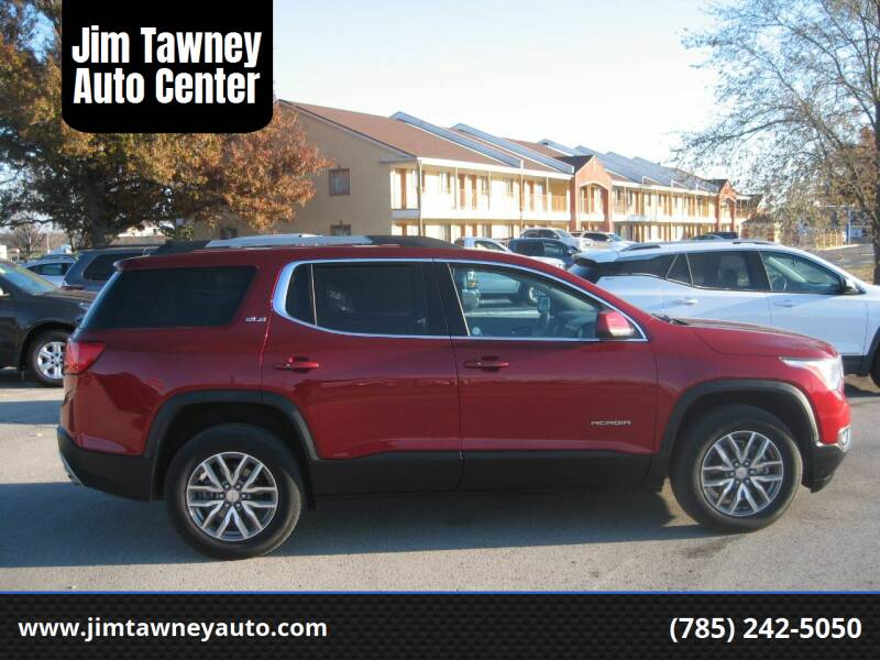 2019 GMC Acadia for sale at Jim Tawney Auto Center Inc in Ottawa KS