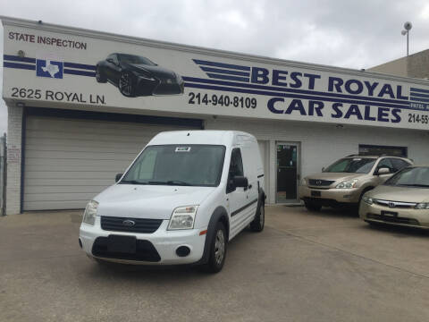 2013 Ford Transit Connect for sale at Best Royal Car Sales in Dallas TX