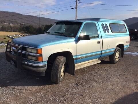 1995 Chevrolet C/K 1500 Series for sale at Troys Auto Sales in Dornsife PA