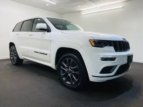 2018 Jeep Grand Cherokee for sale at Champagne Motor Car Company in Willimantic CT
