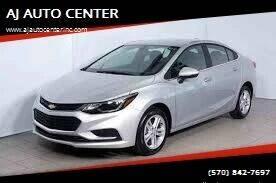 2017 Chevrolet Cruze for sale at AJ AUTO CENTER in Covington PA