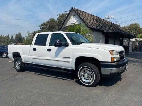 2007 Chevrolet Silverado 2500HD Classic for sale at Three Bridges Auto Sales in Fair Oaks CA