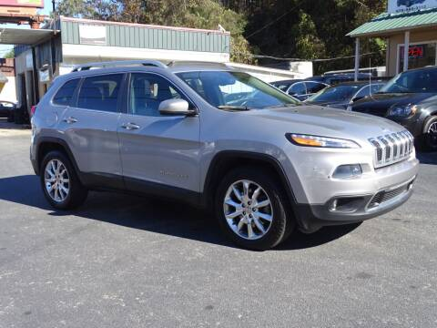 2014 Jeep Cherokee for sale at Luxury Auto Innovations in Flowery Branch GA