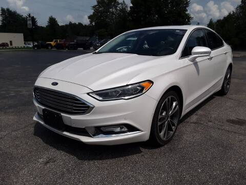 2017 Ford Fusion for sale at Cruisin' Auto Sales in Madison IN