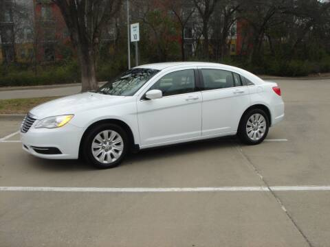 2012 Chrysler 200 for sale at ACH AutoHaus in Dallas TX