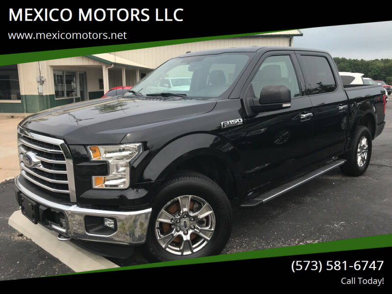 2016 Ford F-150 for sale at MEXICO MOTORS LLC in Mexico MO