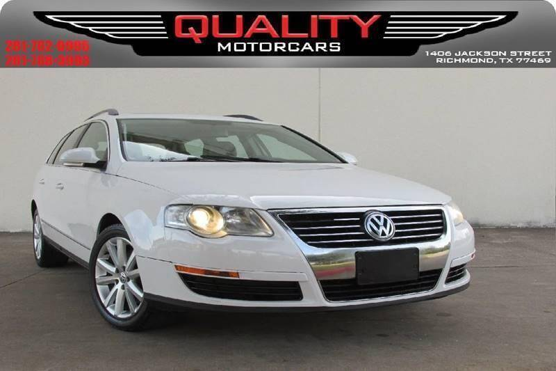 2007 Volkswagen Passat for sale at QUALITY MOTORCARS in Richmond TX