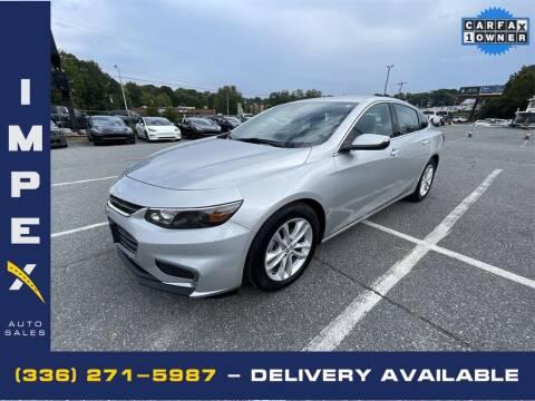 2017 Chevrolet Malibu for sale at Impex Auto Sales in Greensboro NC