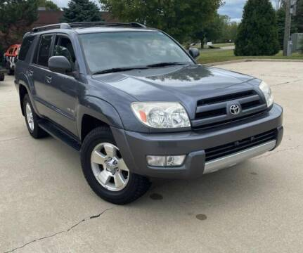 2004 Toyota 4Runner for sale at I-80 Auto Sales in Hazel Crest IL