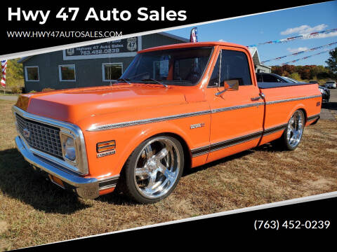 1972 Chevrolet C/K 10 Series for sale at Hwy 47 Auto Sales in Saint Francis MN